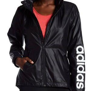 Adidas Linear Windbreaker Logo Jacket